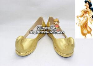 Aladdin Princess Jasmine Gold shoes
