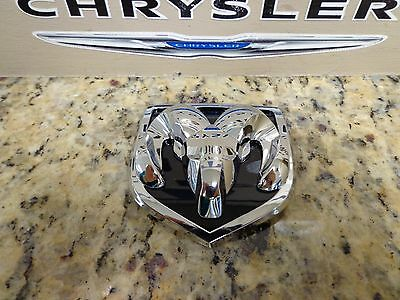 02-09 Dodge Ram 1500 2500 3500 Chrome Hood Grille Emblem Decal Nameplate Mopar