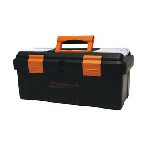 Plastic Portable Work Tool Box Drawer Organizer Storage