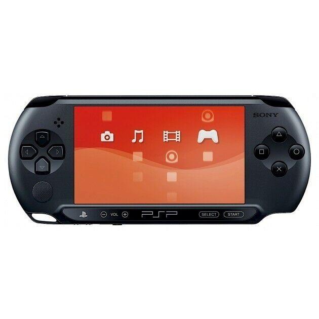 PSP - console Street E1000er #black / Charcoal Black + power supply