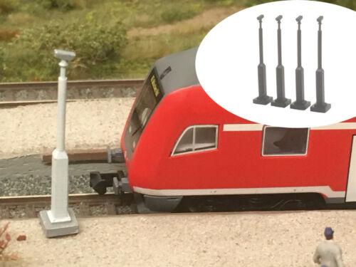 Modellbahn Union MU-TT-A00025 TT Überwachungskamera 4x
