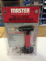Master Appliance Mt-51h 2-in-1 Self Igniting Microtorch