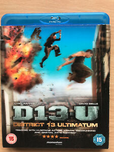 District-13-Ultiatum-Blu-ray-Besson-French-Parkour-Movie-w-Lenticular-Slipcover