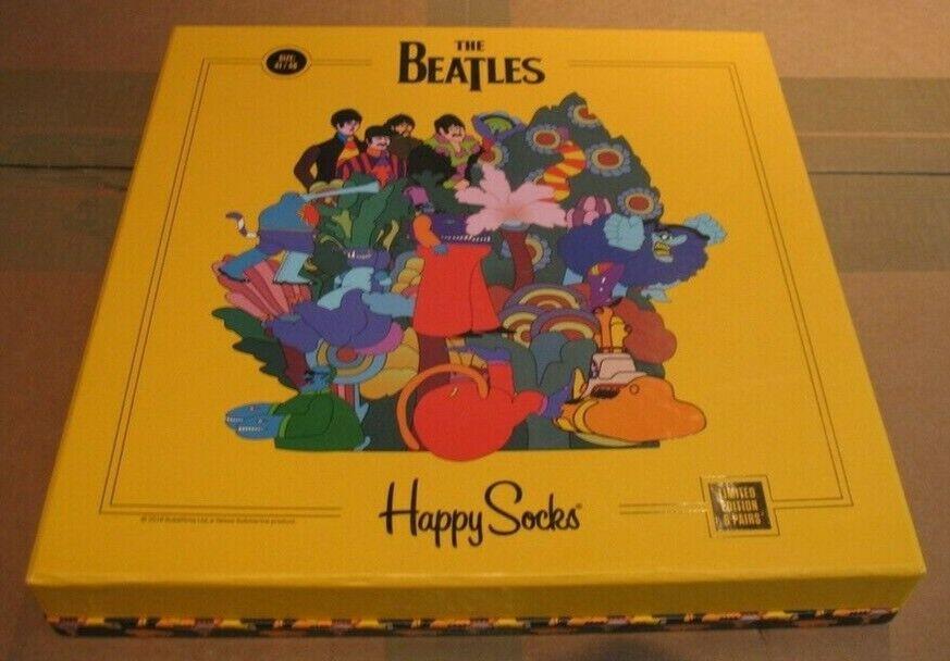The Beatles Yellow Submarine Happy Socks Limited Edition Storage Box Heavy Duty