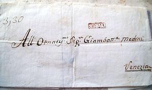1814-PREFILATELICA-A-VENEZIA-DA-CREMA-CON-TIMBRO-IN-CARTELLA-039-CREMA-039
