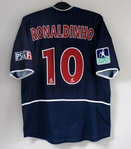 Ronaldinho Maillot PSG Paris Saint-Germain jersey nike shirt vintage football M