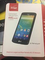 Verizon Mobile Prepaid Android Lg Transpyre Smartphone No Contract Phone 4g