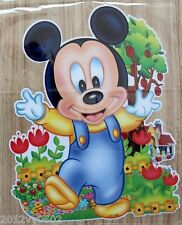 DISNEY MICKEY MOUSE BABY WALL ROOM STICKER VINYL DECAL ART GIFT LARGE 85 X 53cm