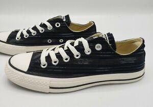 Converse All Star Ox Black Striped