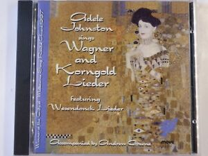 ADELE-JOHNSTON-sings-WAGNER-amp-KORNGOLD-lieder-Scarce-OZ-CD