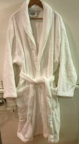 lower price with multiple colors enjoy complimentary shipping Wamsutta Unisex Terry Bathrobe White 100 Cotton One Size for sale online    eBay