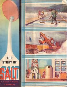 The Story Of Salt Advertisement Circa 1930's 022317nonDBE2