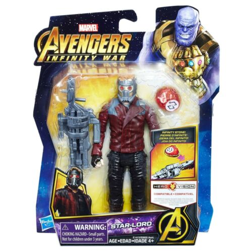 environ 15.24 cm Action Figure Infinity Stone HASBRO Marvel Avengers Infinity War Star-Lord 6 in