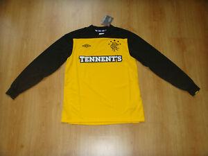 Glasgow Rangers Soccer Jersey Scotland Top GK Football Shirt Maglia Trikot NEW