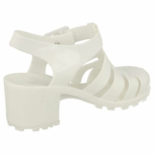 SALE GIRLS  KIDS BUCKLE HEEL SUMMER HOLIDAY BEACH JELLY SHOES SANDALS H3042