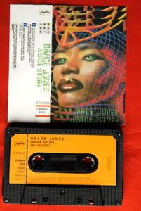 GRACE-JONES-INSIDE-STORY-1986-UNIQUE-EXYU-CASSETTE-TAPE