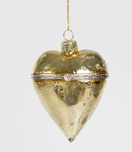 Imperial en forme de cœur bijou Babiole OR Décoration de Noël par Sass /& Belle