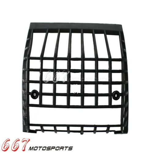 Black Plastic Rear Light Guard Grille Cover Protector For Vespa PX EFL 84//85-up