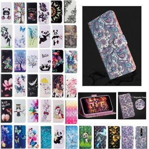 Patterned-Magnetic-Leather-Flip-Case-Cover-For-Nokia-6-2018-7Plus-1-2-3-5-6-8Sir