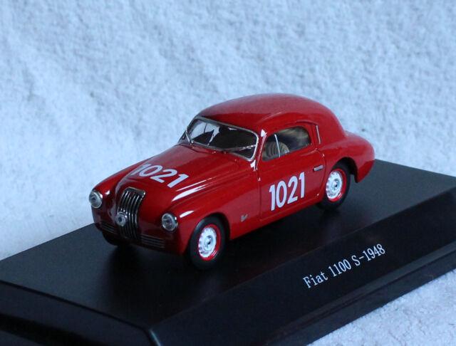 Modellauto Fiat 1100 S schwarz Maßstab 1:43 1948