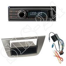 Caliber RMD212 Radio + Seat Altea 2-DIN Blende anthrazit + Radioanschlusskabel