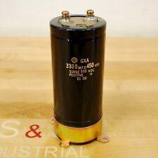 Hitachi GXA 3300MFD 450VDC Capacitor - USED