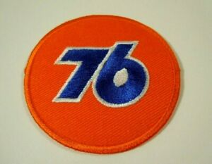 """UNION 76 Embroidered Iron-On Uniform-Jacket Patch 2.5"""""""