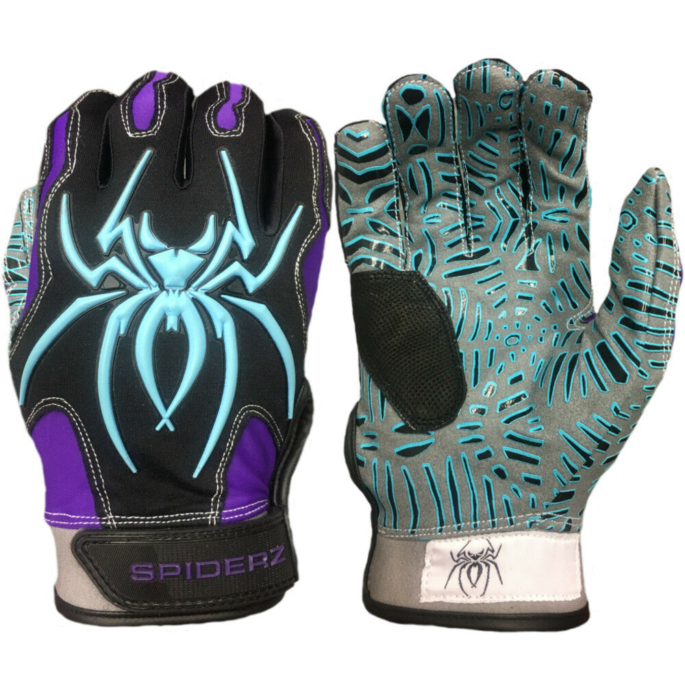 Web HYBRID Tac Palm Spiderz HYBRID Web Batting Gloves OG viola Haze EXTRA LARGE 3e0f1c