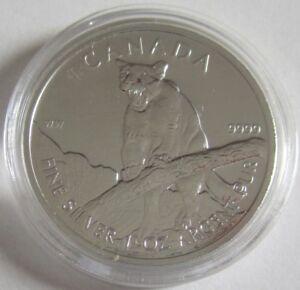 Kanada-5-Dollars-2012-Wildlife-Puma-1-Oz-Silber