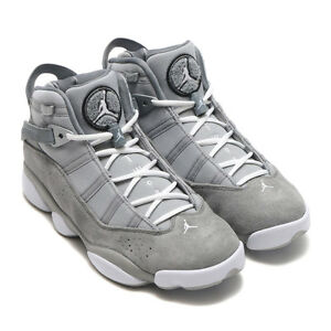 MENS JORDAN 6 RINGS  322992 - 014  (COOL GREY) SIZE 10  NEW IN BOX ... ad82945e9