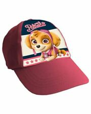 Girls Kids Skye Marshall Paw Patrol Characters Summer Sun Baseball Cap Hat Pink