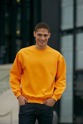 Herren Sweatshirt Rundhals in 23 Farben S-3XL 4XL 5XL Übergröße James& Nicholson