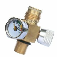 Product Paintball Co2 Tank On/off Valve With 3000 Psi Gauge