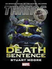 Thanos : Death Sentence Prose Novel (2017, Hardcover)