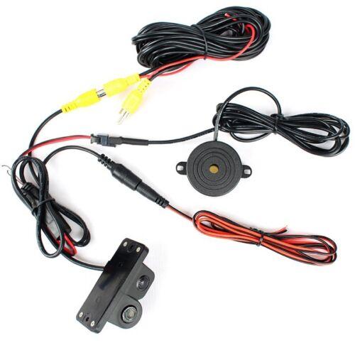 "Night Vision 2 in 1 Radar CCD Parking Camera Kit 5/"" Car Rearview Mirror Monitor"