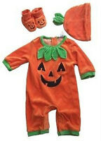 Children's Place 3 - 6 Month Pumpkin Halloween Costume