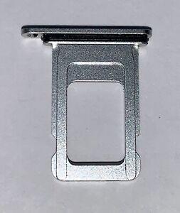 Genuine Apple iPhone XR Waterproof SILVER Sim Card Tray Chip Holder Simtray