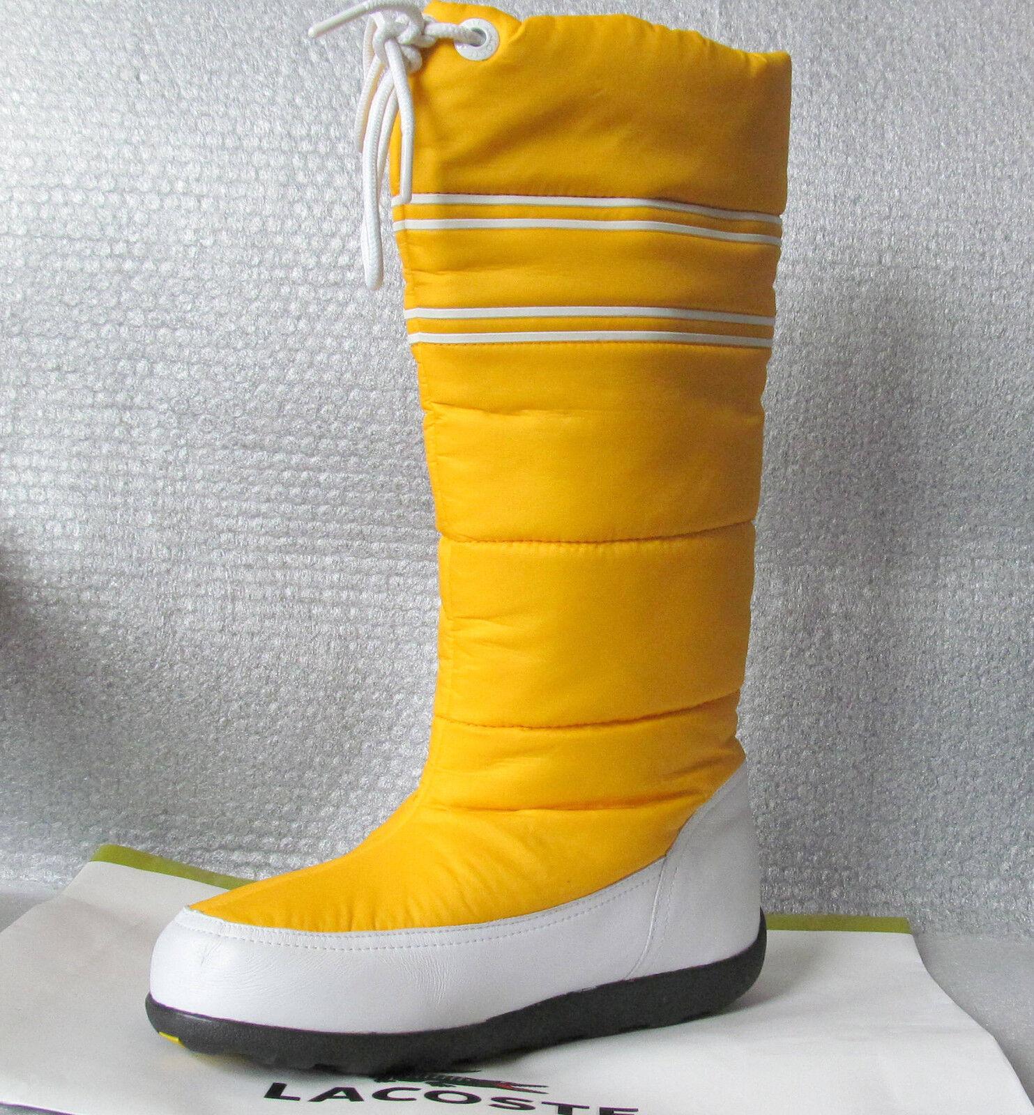 Nuevas Lacoste Ceñido Puffy Amarillo Invierno botas Talla 6 (37) (37) (37)  hasta un 70% de descuento