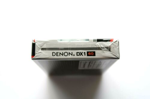 DENON DX1//60 NORMAL POSITION TYPE I BLANK AUDIO CASSETTE JAPAN 1983