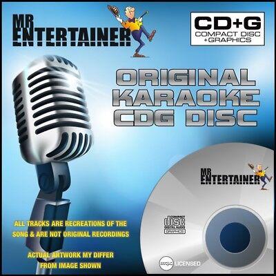 Diligent Mr Entertainer Karaoke Cdg - Mrh104 - Chart Hits 104 April 2013