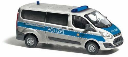 H0 Ford Transit Polizei Berlin Neu Busch 52414-1//87