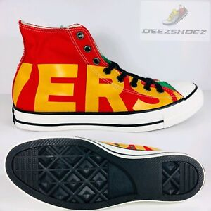 Image is loading Converse-Chuck-Taylor-AllStar-Red-Green-Yellow-159534F- ae2b8917a