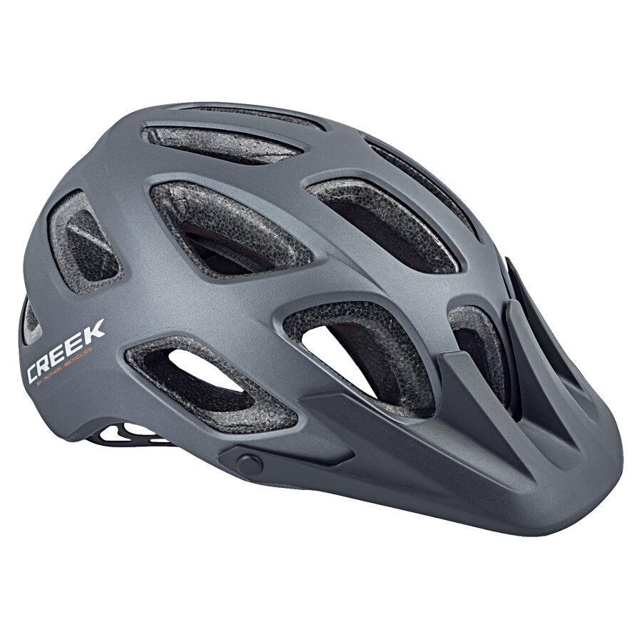 AUTHOR casco per bici Creek HST taglia L 57cm-60cm Hard Shell casco Dial-Fit gri