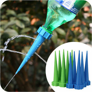 10x-Plant-Flower-Water-Control-Drip-Cone-Spike-Waterer-Bottle-Irrigation-System