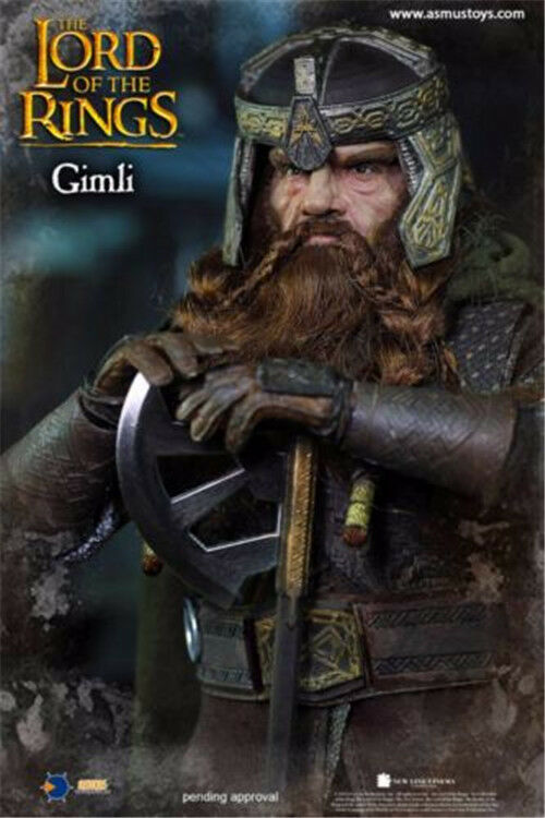 Asmus Toys The Lord of the Rings Series: Dwarf Warrior Gimli 1/6 Figure