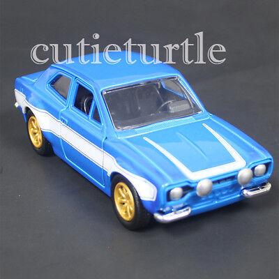 Jada Fast and Furious Brian/'s Ford Escort 1:32 Diecast Car 98674-CP4 Blue