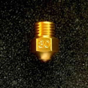 E3D V6 Nozzle 3DMakerWorld Standard Brass : 0.80mm for 1.75mm filament