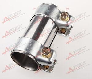 2-25-57mm-Abgasrohren-Rohrverbinder-Joiner-Sleeve-Klemmverbinder-2-25-Tube