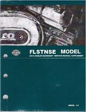 2014 Harley-Davidson FLSTNSE CVO Softail Deluxe Service Repair Manual Supplement