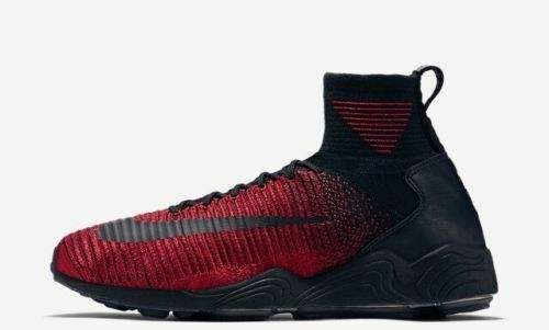 New Nike Zoom Mercurial XI FK FC Men's Shoes Black/university Red 852616 600 best-selling model of the brand